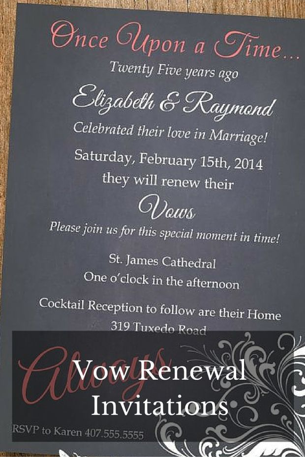 Renewing Wedding Vows  To be Renew wedding vows and Vow