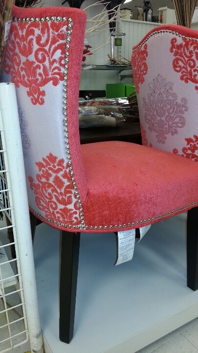 Cynthia Rowley coral chairs Want them in an all white
