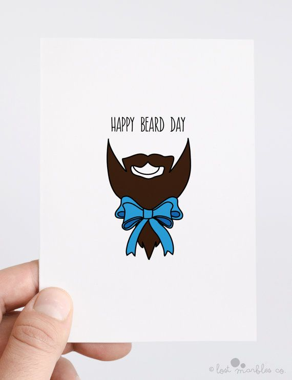 Beard Card ∙ Birthday Card ∙ Beard Appreciation ∙ Funny