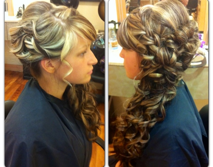 The 8 Best Images About Prom Hair On Pinterest 10 Curls And