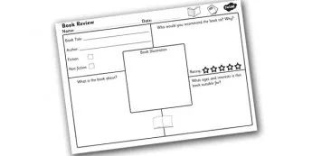 25+ best ideas about Book review template ks2 on Pinterest