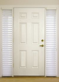Beautiful Front Door Side Window Curtains : Curtains For ...