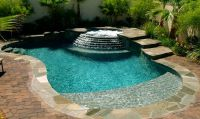 1000+ images about Small Inground Pool & Spa Ideas on ...