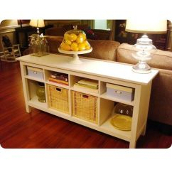 Console Table Behind Sofa Decor Ideas Pearsall For Sale Craigslist Hemnes Ikea | Pinterest Solid Pine ...