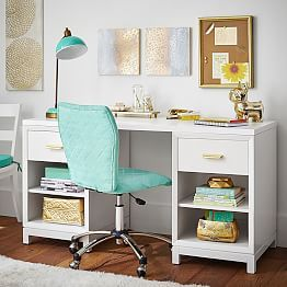 Best 20 White desks ideas on Pinterest  Chic desk Home