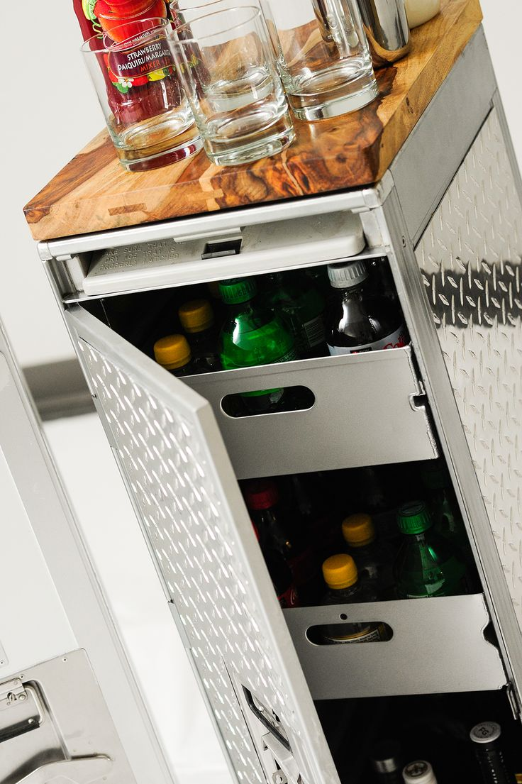 1000 images about Revived Airline Catering Trolleys on