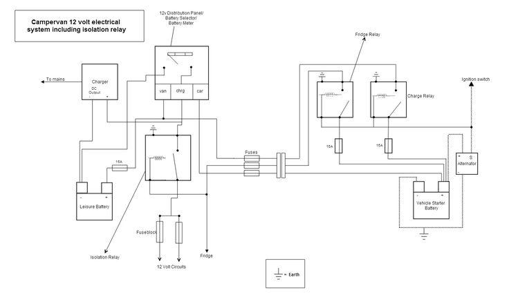 12 volt motor wiring diagram rv