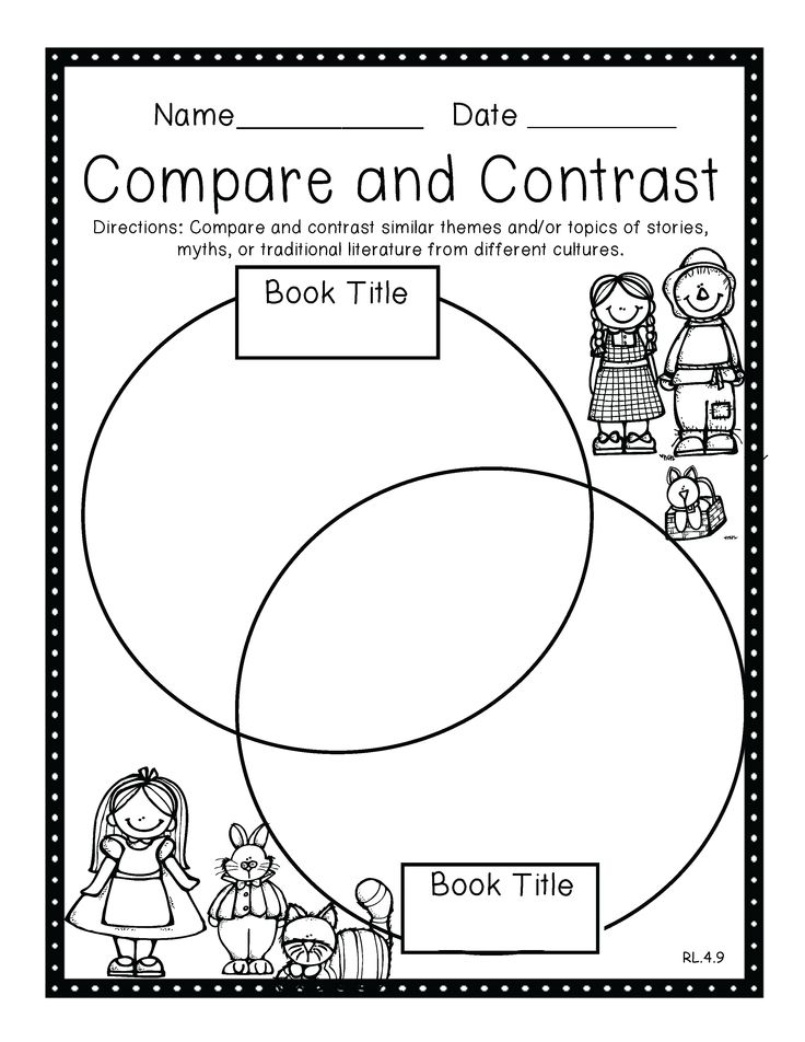 91 best images about Compare and Contrast on Pinterest