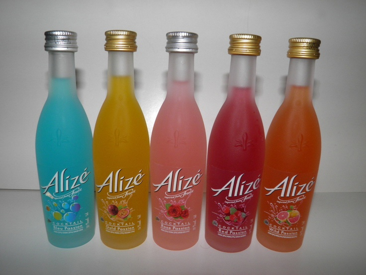 Alize mini liquor alcohol bottles wiskey wine