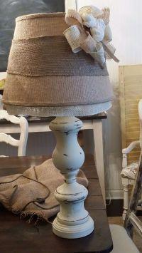 25+ best ideas about Burlap Lamp Shades on Pinterest ...