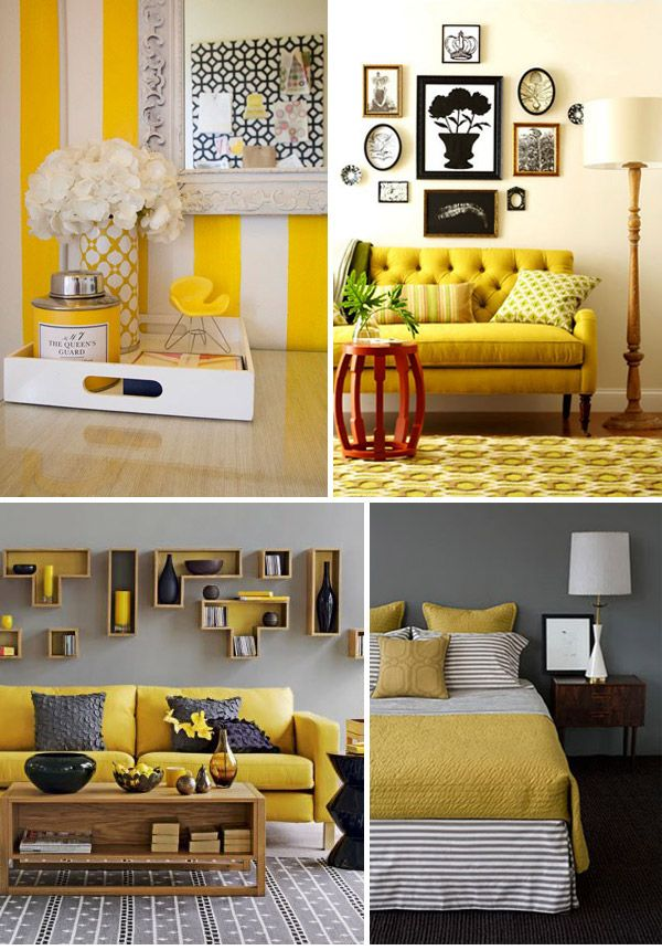 87 Best Images About Grey And Mustard Yellow Home Decor On