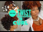 three strand twist ' curl natural