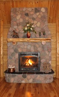 Top 25 ideas about Ward Log Home Fireplaces on Pinterest ...