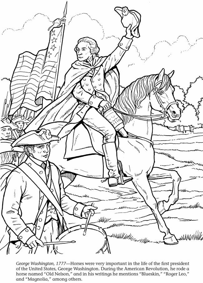 17 Best images about Coloring Pages/LineArt Revolutionary
