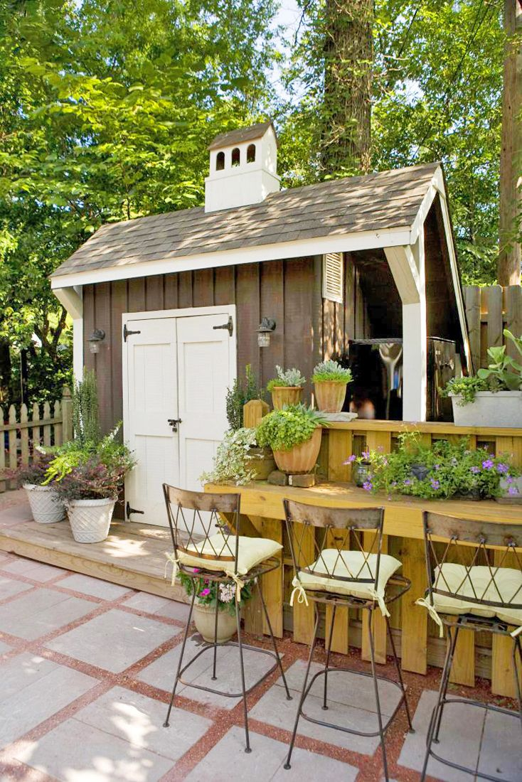 79 Best Images About Sweet Sheds On Pinterest Gardens Backyards