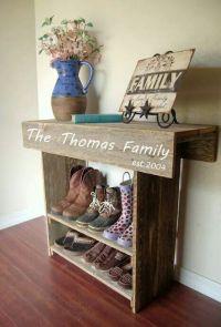25+ best ideas about Shoe organizer entryway on Pinterest ...
