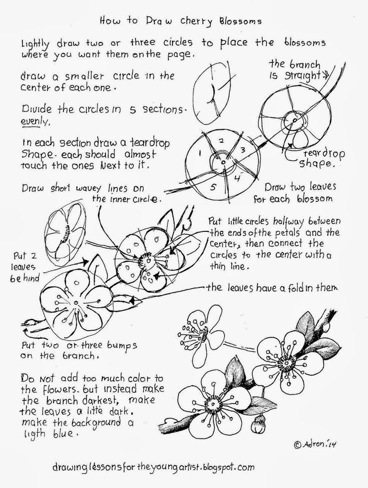 25+ best ideas about Flower drawing tutorials on Pinterest