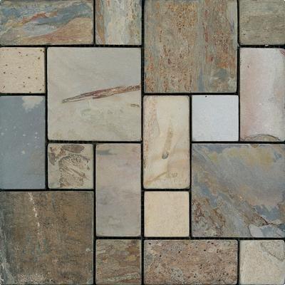 onyx kitchen backsplash trim ideas anatolia - autumn tuscan pattern tumbled mosaics hd092 ...