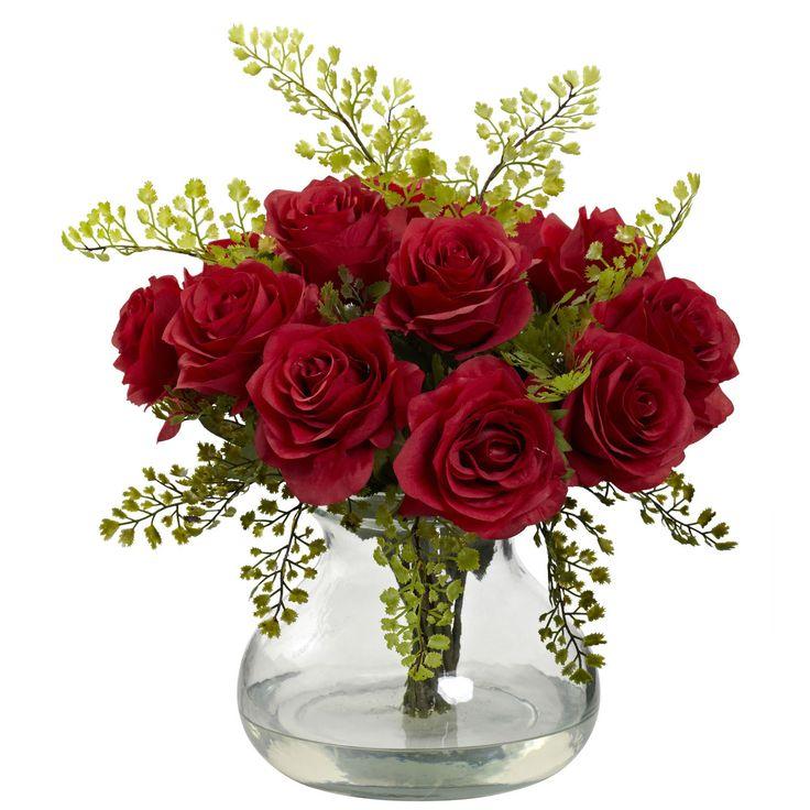 25 Best Ideas About Red Rose Arrangements On Pinterest