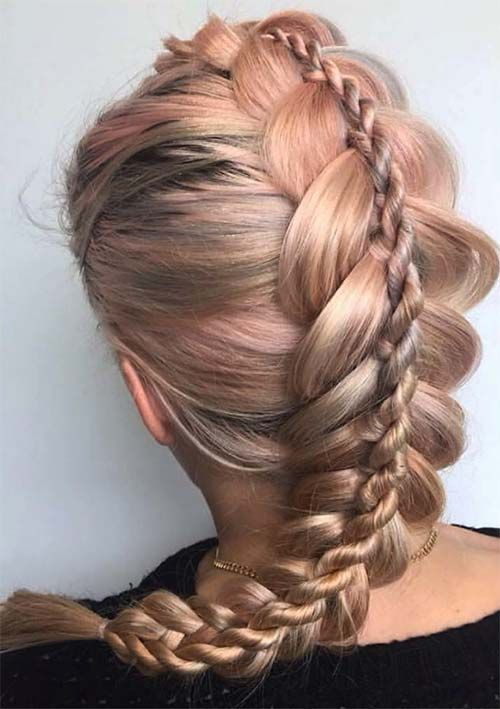 1000 Ideas About Braided Hairstyles On Pinterest Braids