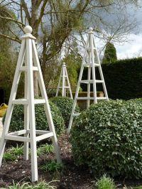 174 best images about Wooden Garden Obelisks on Pinterest ...