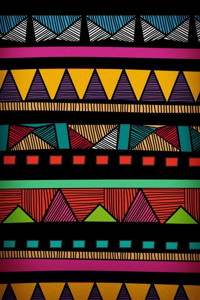 Aztec Print Wallpaper Hd Cute Iphone Wallpaper Colorful Xxx Texturas