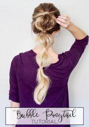 ponytail tutorial ideas
