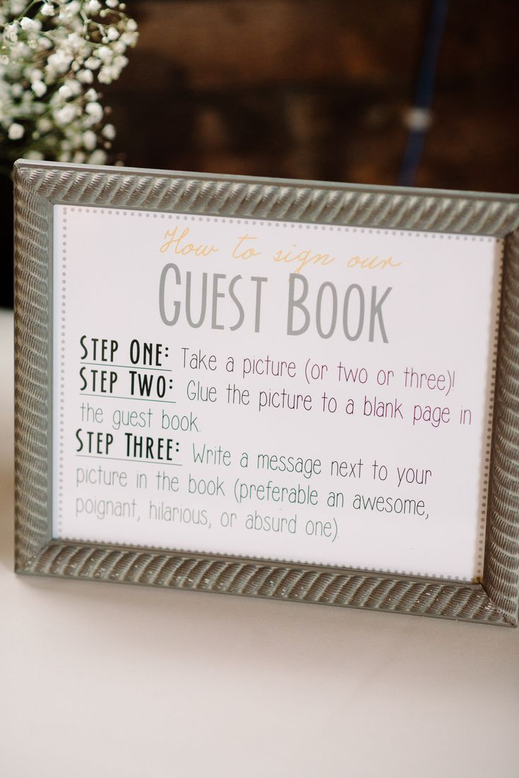 Guest Book Sign template instant download  gray and yellow and purple and gray  Featured