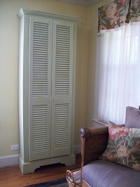25+ best Louvered door ideas on Pinterest | Shutter door ...
