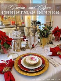 25+ Best Ideas about Christmas Dinner Tables on Pinterest