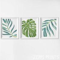 Beach Art Prints, Watercolor Beach Nursery Art, Tropical ...
