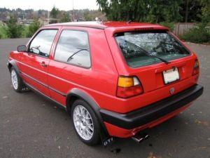 1992 Volkswagen GTI 16V A2 For Sale Rear   Volkswagens