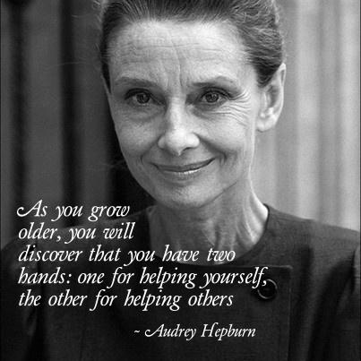 Audrey Hepburn Quote Inspirational Quotes Pinterest