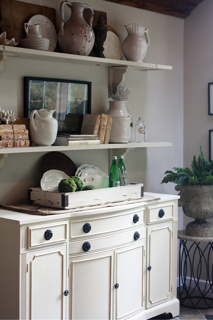 17 best ideas about Dining Room Buffet on Pinterest  Buffet tables White buffet table and