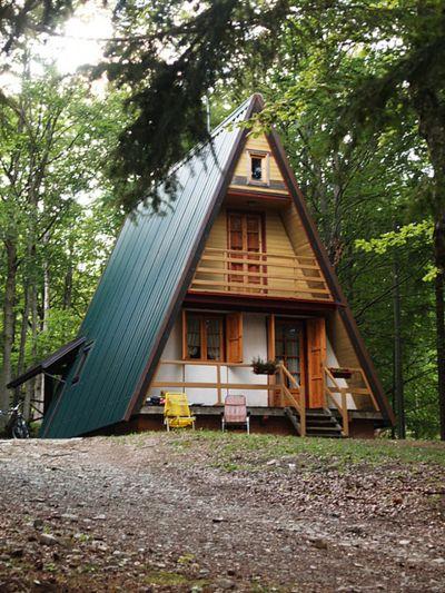 1000 ideas about A Frame House on Pinterest  A Frame A