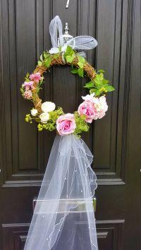 Best 25+ Wedding door wreaths ideas on Pinterest   Wedding ...