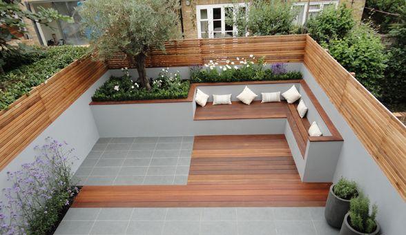 Built In Garden Seating Design Ideas