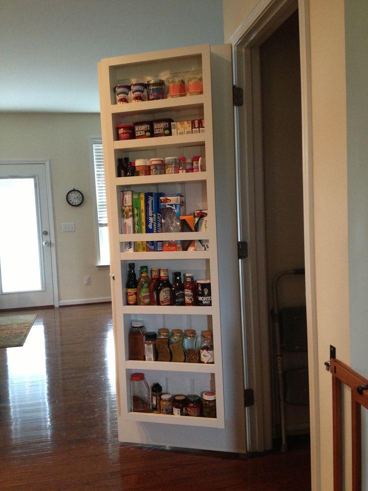 Pantry Door shelf Extra shelvingbrilliant