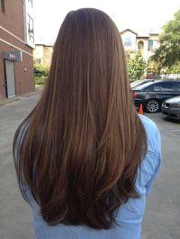 Best 20+ Straight layered hair ideas on Pinterest   Long ...