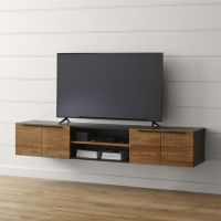 25+ best ideas about Floating Tv Stand on Pinterest