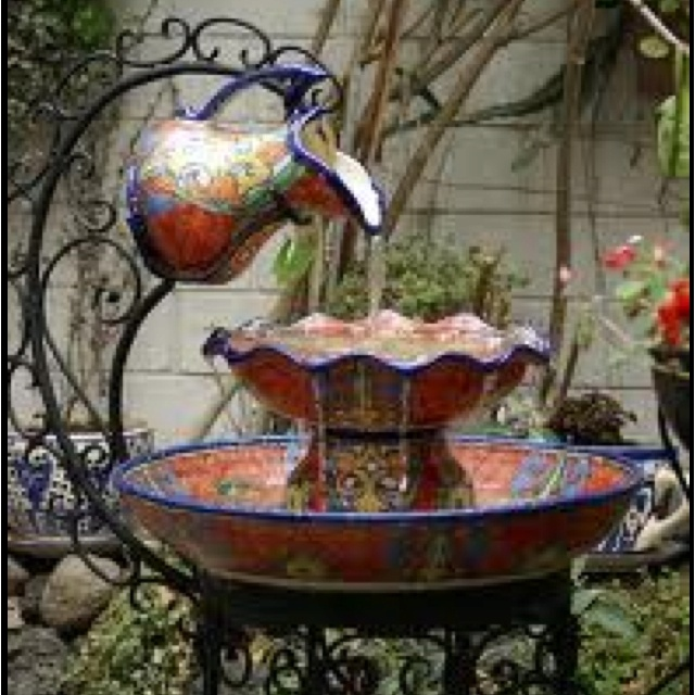 25 Best Ideas About Southwestern Outdoor Fountains On Pinterest