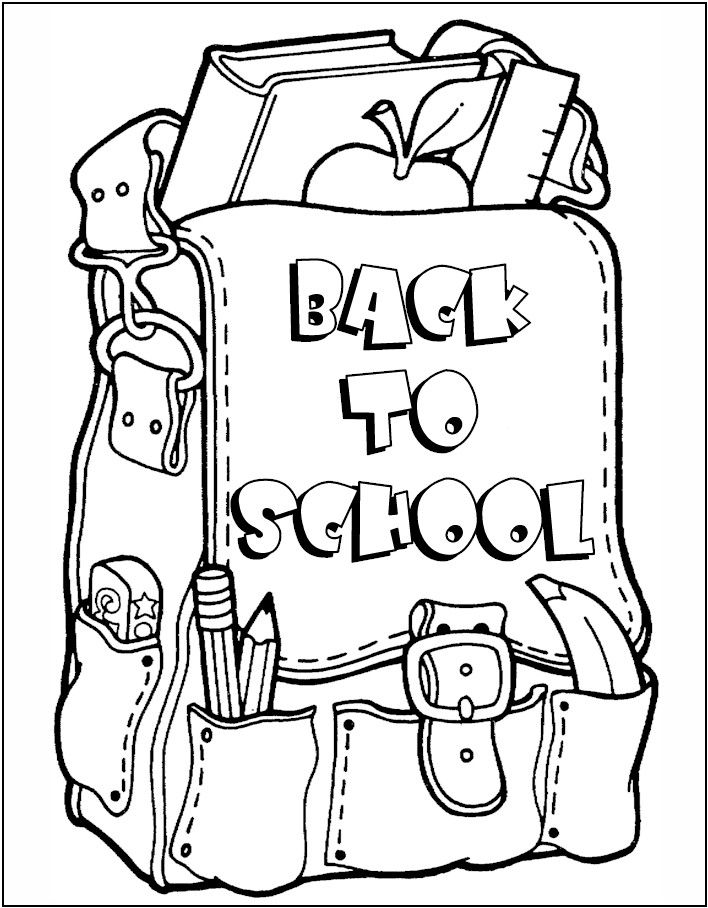 Best 25+ School coloring pages ideas on Pinterest