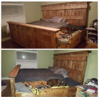Dog bed attached to bed | Dogs | Pinterest | Dog beds ...