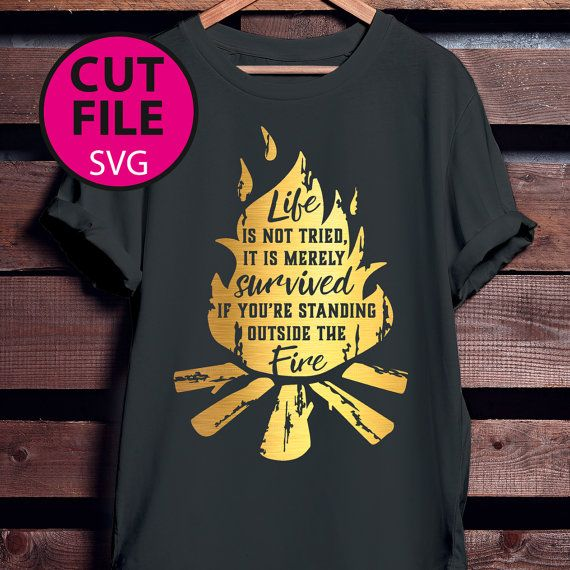 Download standing outside the fire, distressed, svg, garth brooks ...