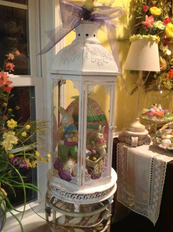 Easter lantern  Decorating  Pinterest  Lanterns and Easter