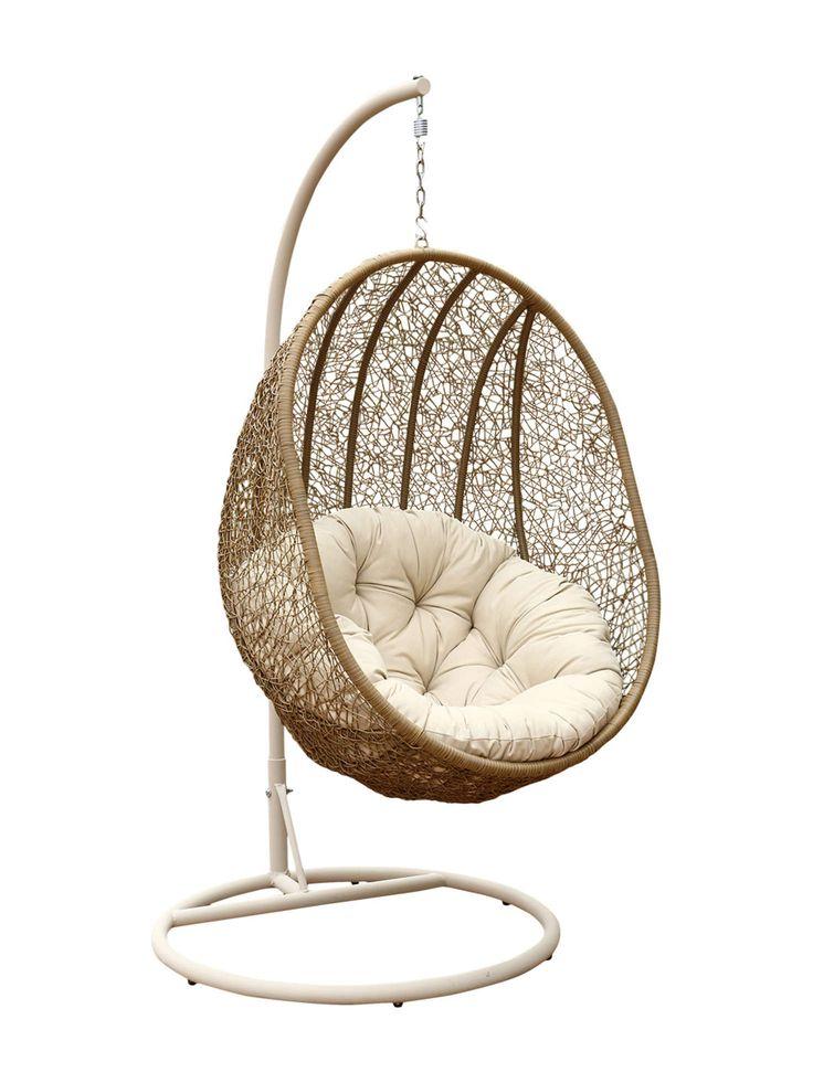 Lamport Swinging Egg Chair  Home decor  Pinterest  Eggs