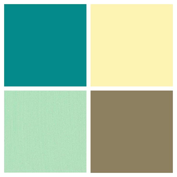 Kitchen color palette