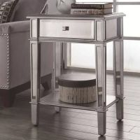 1000+ ideas about Mirrored End Table on Pinterest