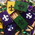Gras new orleans themed matchbox wedding favors party favors new