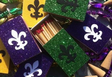 New Orleans Themed Wedding Favors
